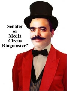 Is Talha Mehmood Senator or Media Circus Ringmaster?