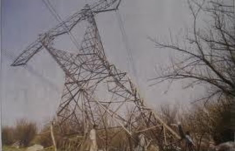 Destroyed Power Pylon