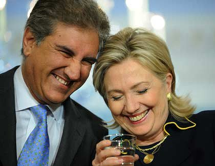 SMQ with his best friend Hillary Clinton