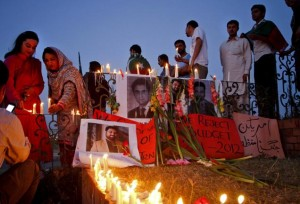 Islamabad vigil for Saleem Shahzad
