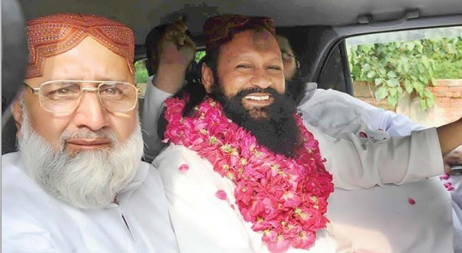 Malik Ishaq laughing