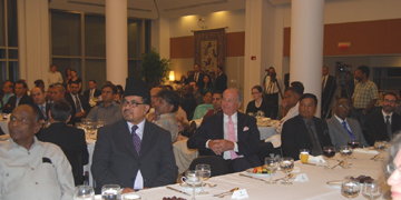 Interfaith Iftar at Pakistan Embassy USA