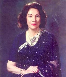 Begum Nusrat Bhutto