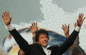Imran at the Minar-e-Pakistan jalsa