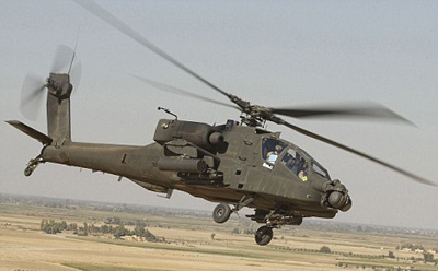 NATO helicopter