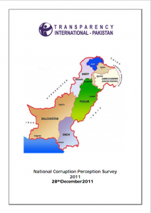 Transparency International Pakistan Report 2011