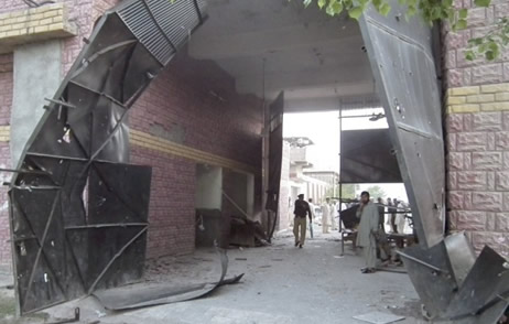 Aftermath of Taliban attack on Bannu prison