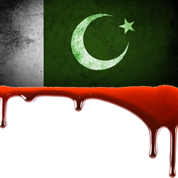 Pakistan bleeding