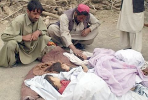 Shia children killed in sectarian attack