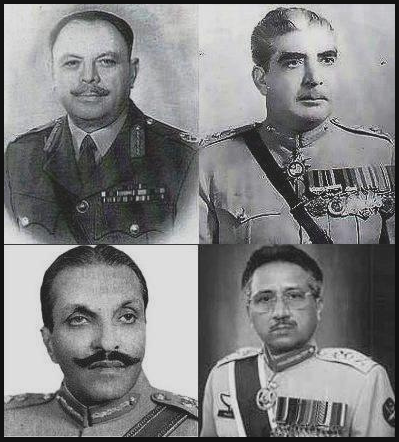 Pakistan's military dictators