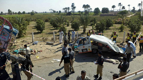 road accident in Punjab kills 24