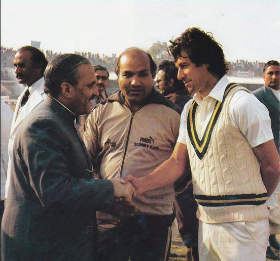Imran Khan With Zia Ul Haq