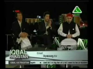 Imran Khan, Ahmed Quraishi, and Zaid Hamid