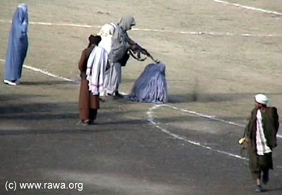 Taliban killing woman