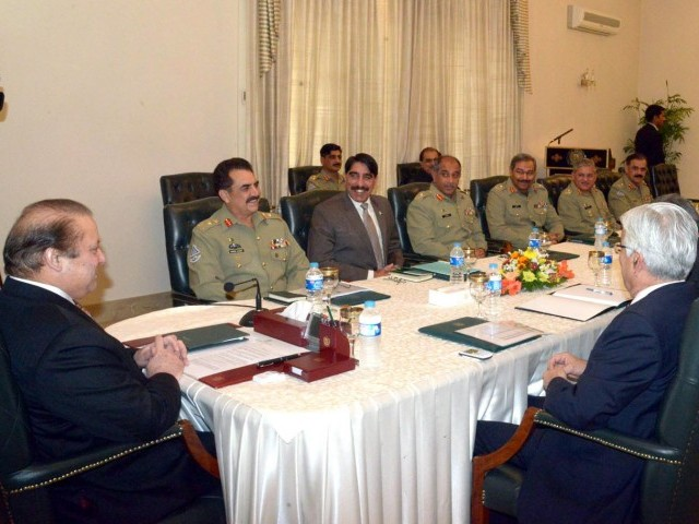 national security meeting