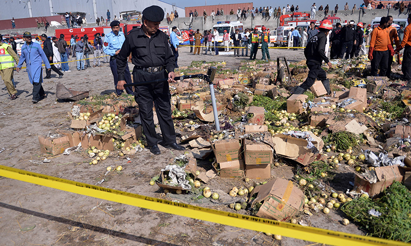 Blast kills 24 at Islamabad fruit market