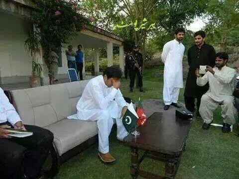 Sad Imran Khan