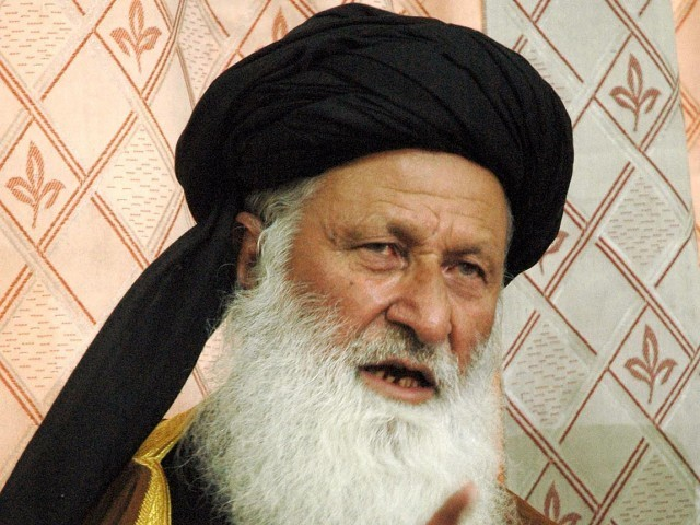 Chairman of the Council of Islamic Ideology (CII) Maulana Mohammad Khan Sheerani