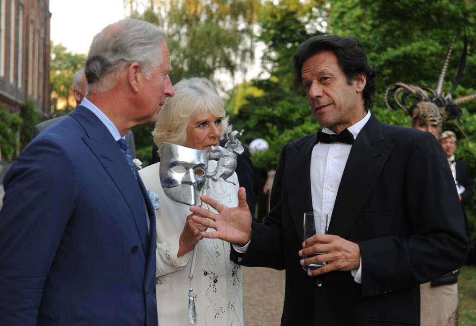 Imran Khan with Prince Charles