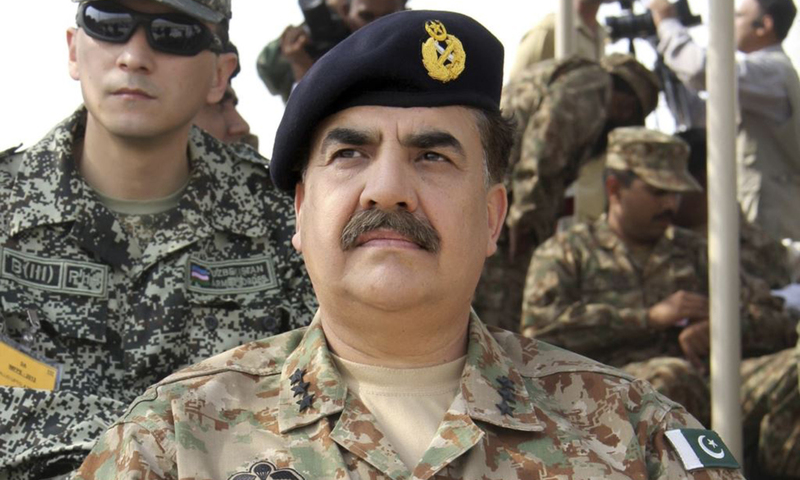 Chief of Army Staff Gen Raheel