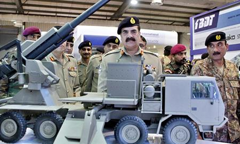 Gen Raheel at IDEAS 2014