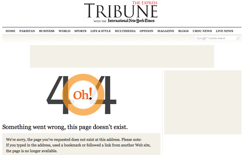 Express Tribune removes article about ISI