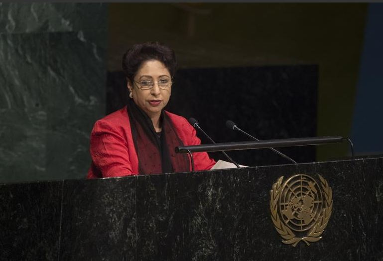 Maleeha Lodhi at UN