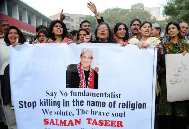 Protest against Assassination Salman Taseer
